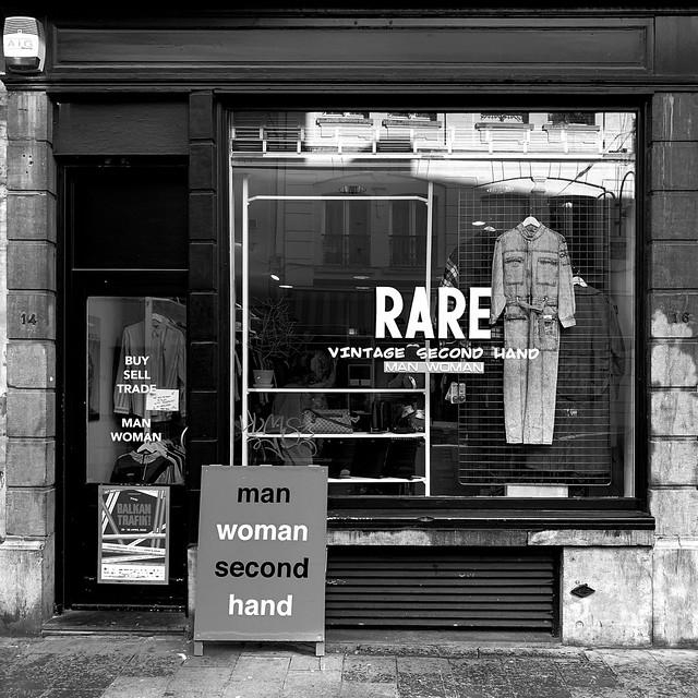 rare second hand