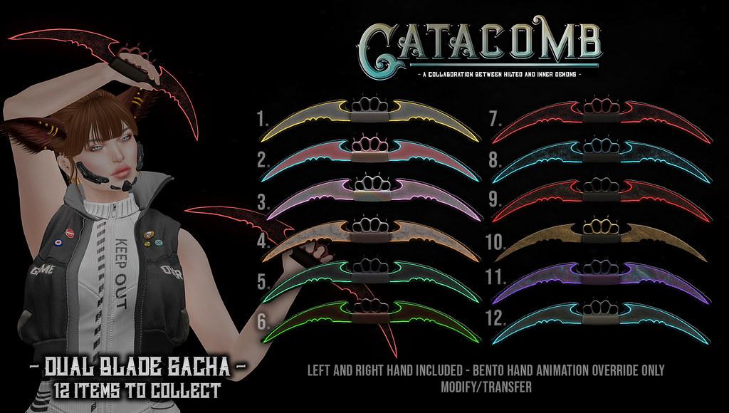 Catacomb – Dual Blade Gacha