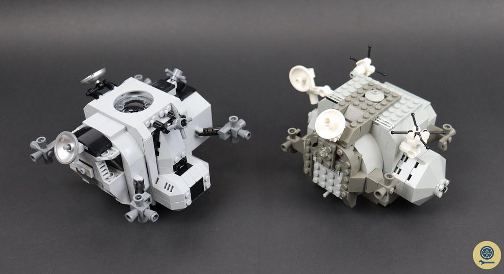 10029 Lunar Lander vs 10266 NASA Apollo 11 Lunar Lander 6