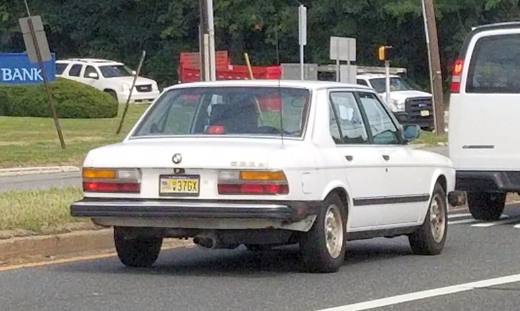 1986 BMW 528e