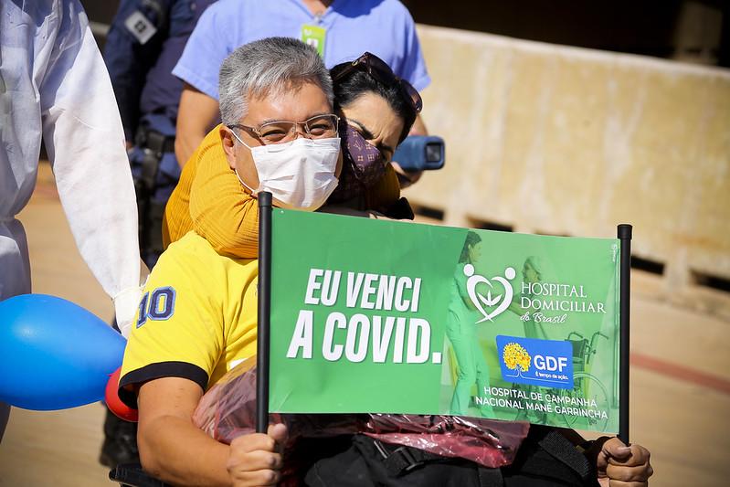 Mais de 900 pessoas já receberam alta do Hospital de Campanha