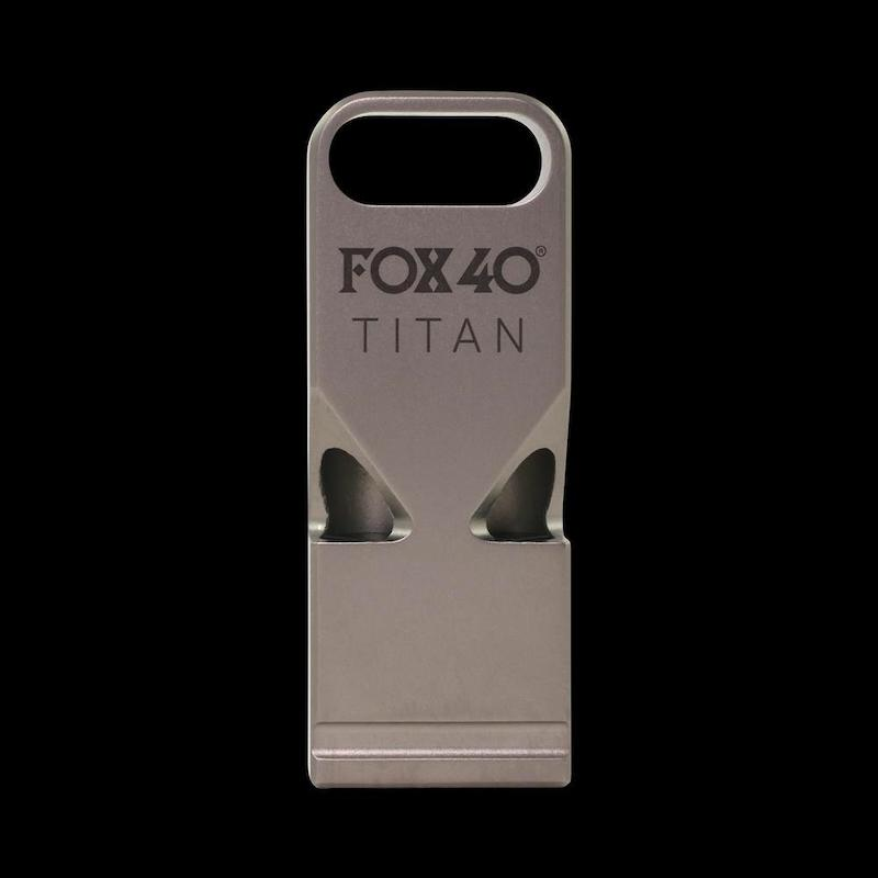 Fox 40: TITAN Titanium Whistle