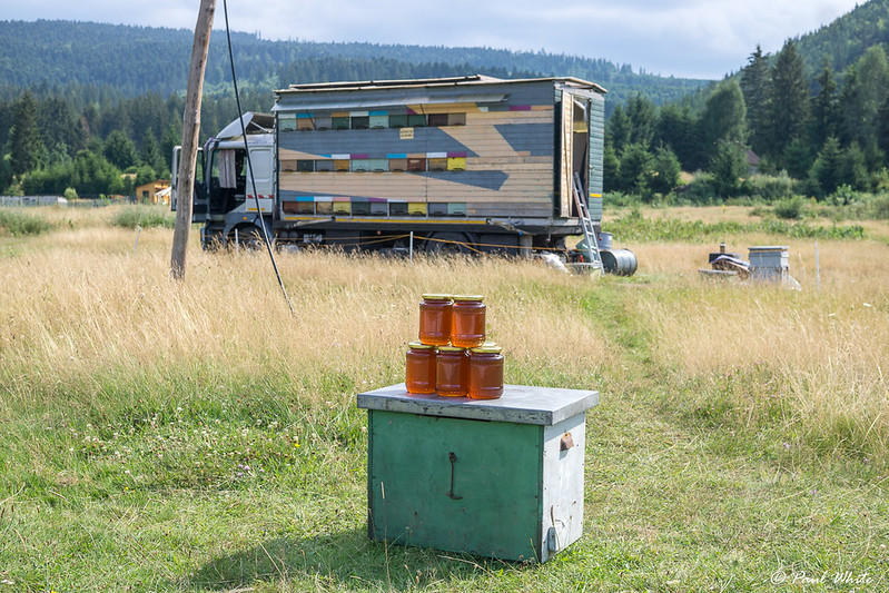 Honey truck