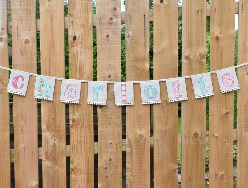 Charlotte's Birthday bunting