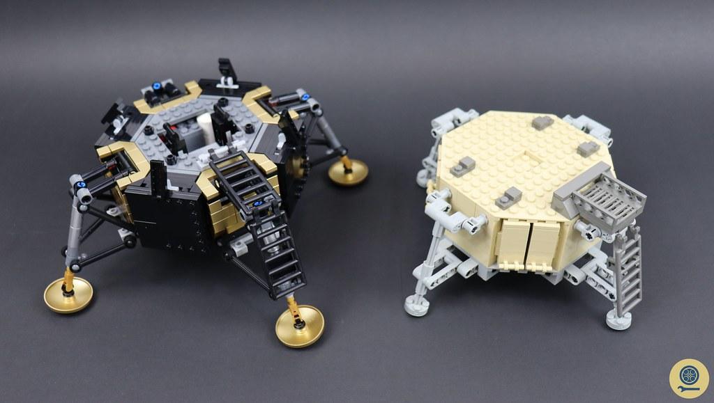 10029 Lunar Lander vs 10266 NASA Apollo 11 Lunar Lander 5