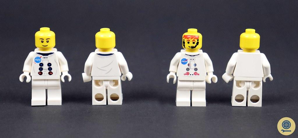 10029 Lunar Lander vs 10266 NASA Apollo 11 Lunar Lander 4