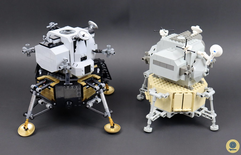 10029 Lunar Lander vs 10266 NASA Apollo 11 Lunar Lander 2