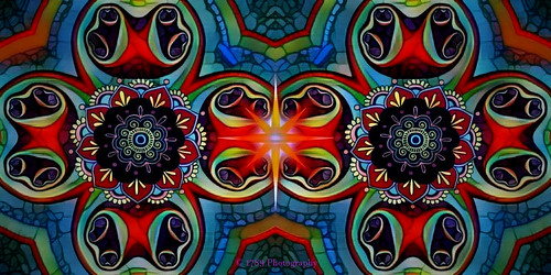 august fractal abstract design colour vivid multicoloured cool jazzy art artwork