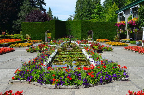 Around Butchart Gardens - The Italian Garden | by Neal D