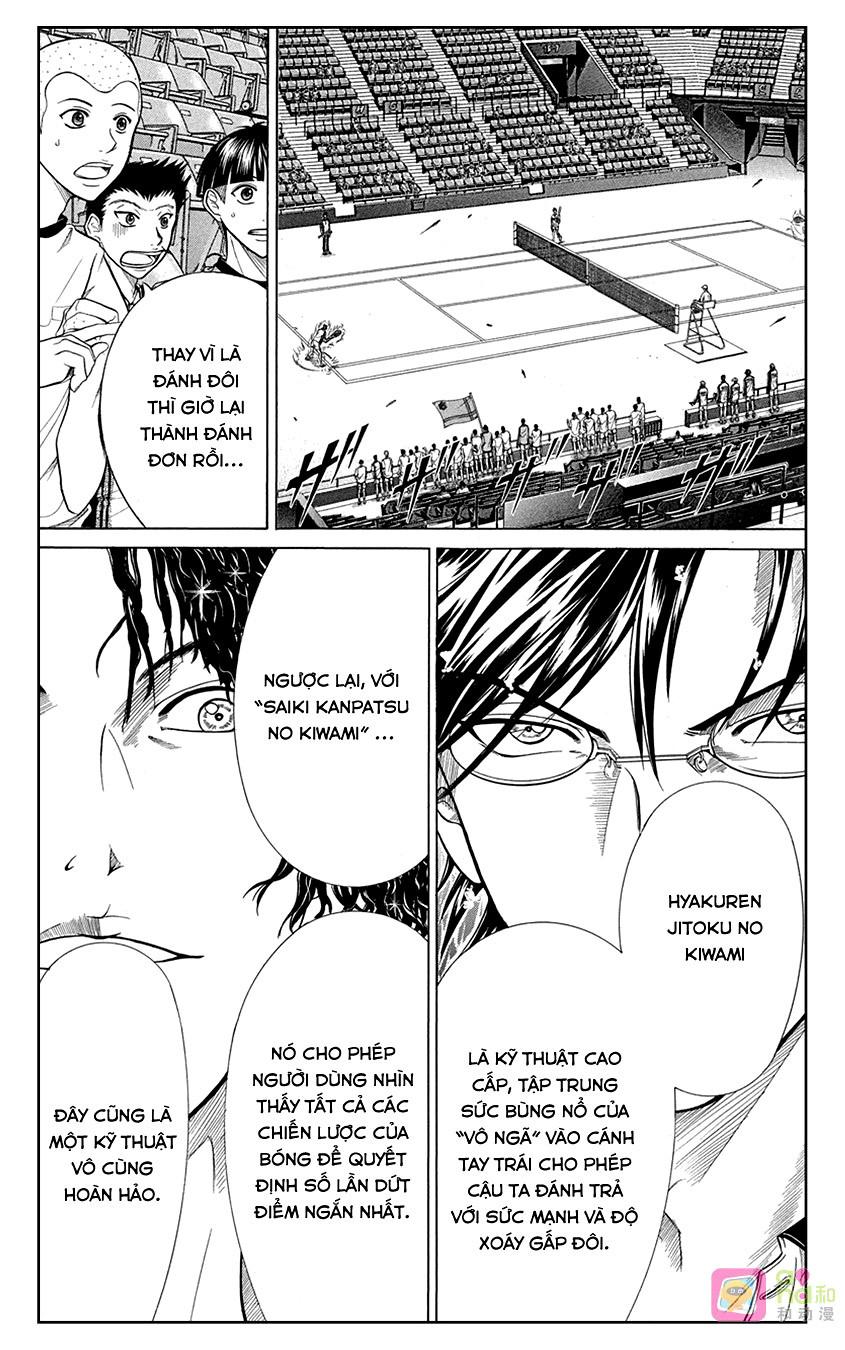 Hoàng tử Tennis chap 333 - Trang 4