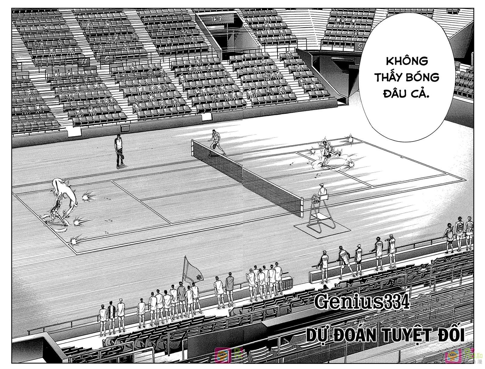 Hoàng tử Tennis chap 334 - Trang 3