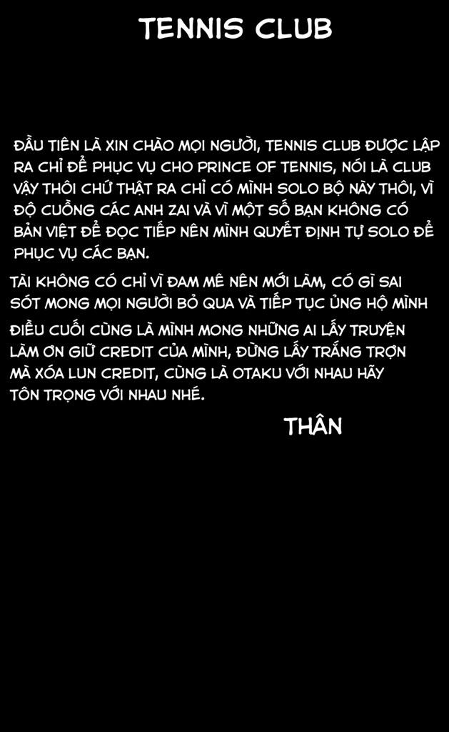 Hoàng tử Tennis chap 334 - Trang 1