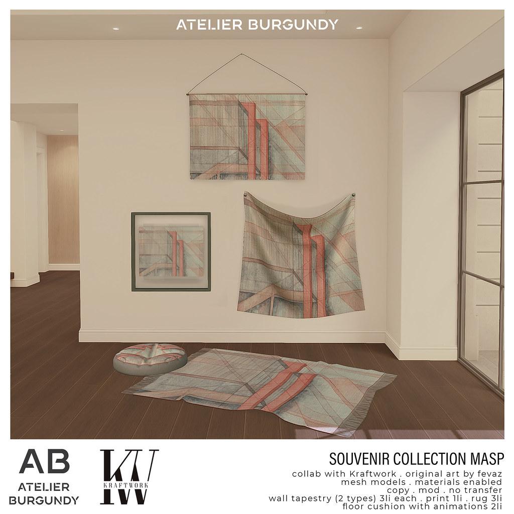 Atelier Burgundy + Kraftwork . Masp