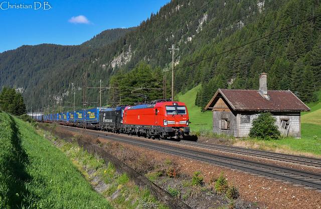 E 193.337 + E 193.708 – Brennerbad / Terme di Brennero