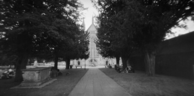 pinhole Winchester Cathedral