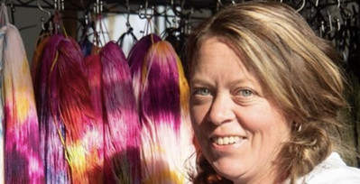 Heather Breadner, owner of Aberdeen's Wool Company in Lindsay, Ontario has started a COVID-19 memorial blanket to honour the lives of all the people who have died from the virus in Canada.