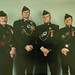 04864 - 2002, Photo, Group shot, 20th Anniversary of Basic Para Course, L-R MWO S Patterson, Maj R Zeidler, CWO J Wilmot, MWO S Kelly