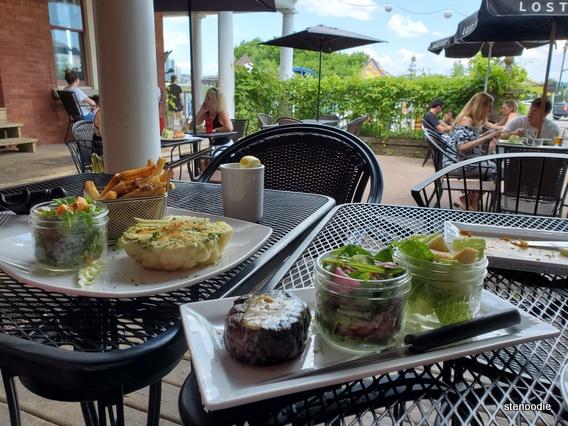 The Farmhouse Restaurant patio lunch