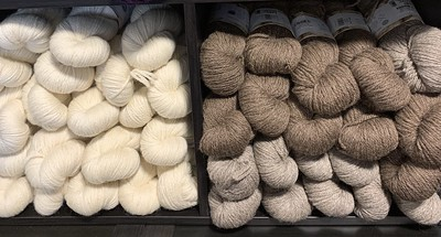 West Yorkshire Spinners Blue Faced Leicester Aran has been re-stocked!