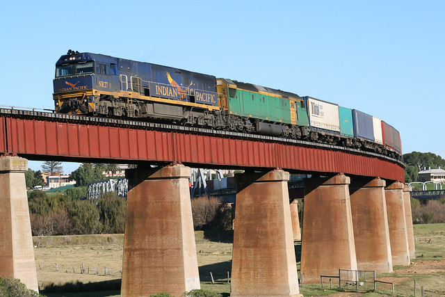 Indian Pacific NR on freight duties