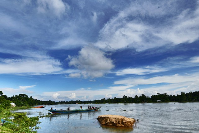 Bangladesh Monsoon Landscape