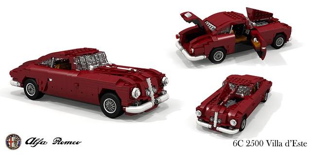Alfa Romeo 6C 2500 SS Villa d'Este - Touring Superleggera (1949)