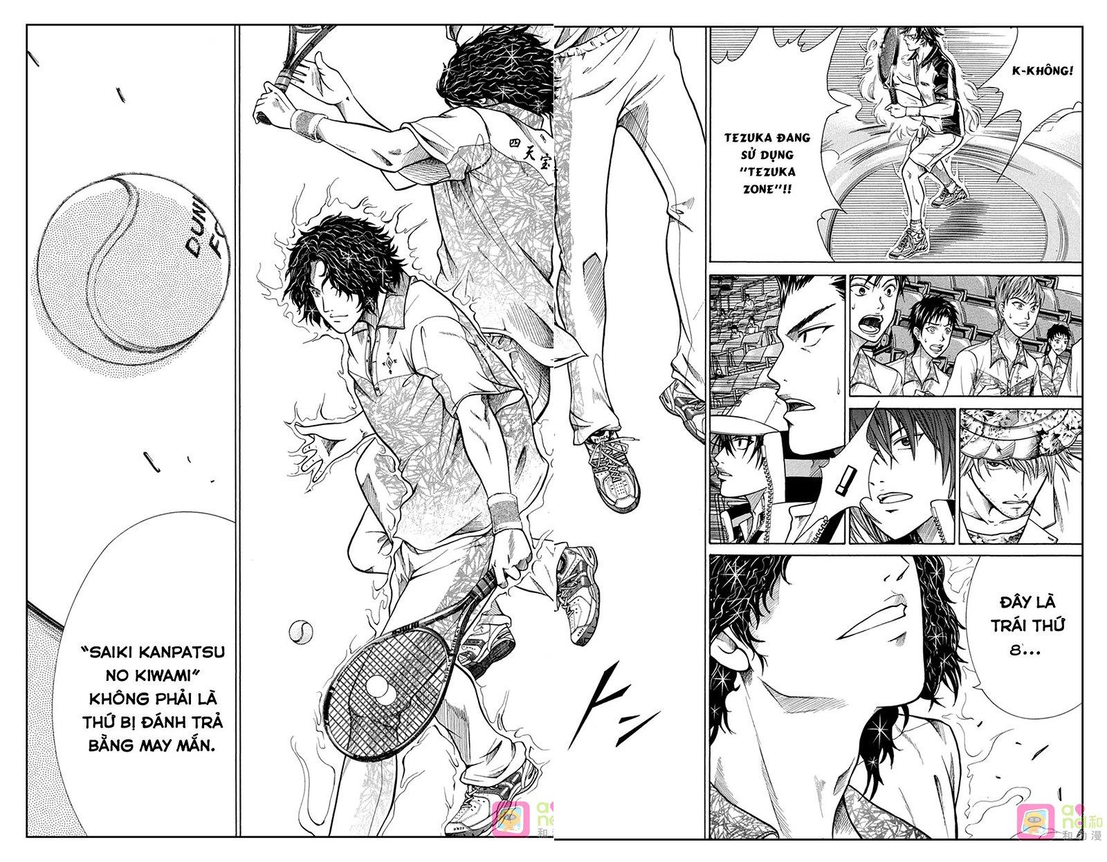 Hoàng tử Tennis chap 334 - Trang 14