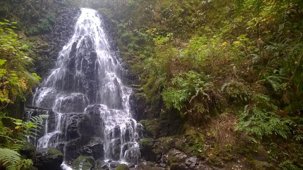 Fairy Falls, Columbia River Gorge National Scenic Area  10/9/2015