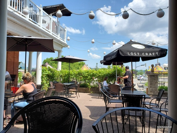 The Farmhouse Restaurant lunch patio view