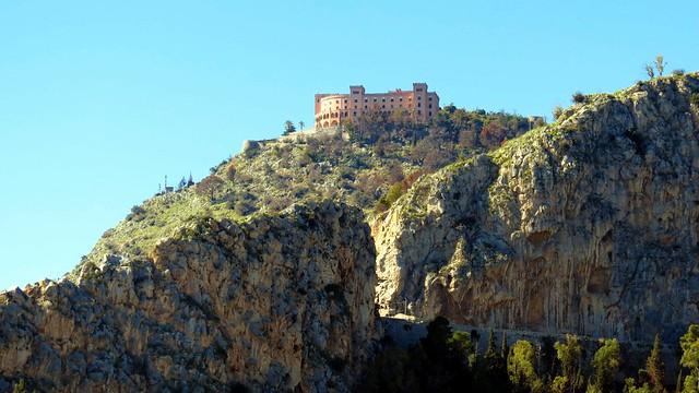 IMG_8685 - strada di accesso al Castello Utveggio a Monte Pellegrino