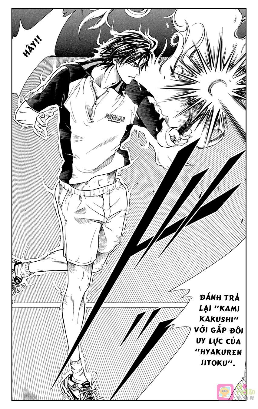 Hoàng tử Tennis chap 333 - Trang 10