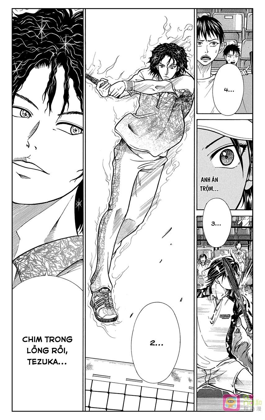 Hoàng tử Tennis chap 334 - Trang 8
