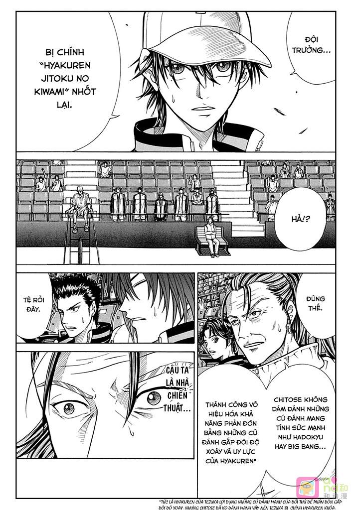 Hoàng tử Tennis chap 334 - Trang 6