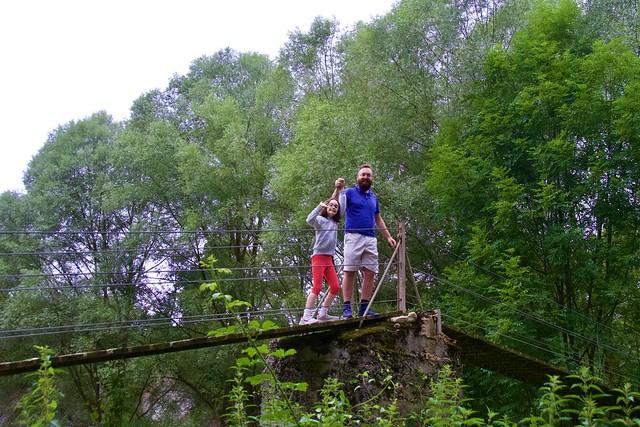Manel i Laia a la Colònia Llaudet, Vilallonga de Ter, Ripollès, Girona.  ( Explore August 2,  2020 )