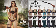 Art@Ko - Brave Huntress Set -  WLRP