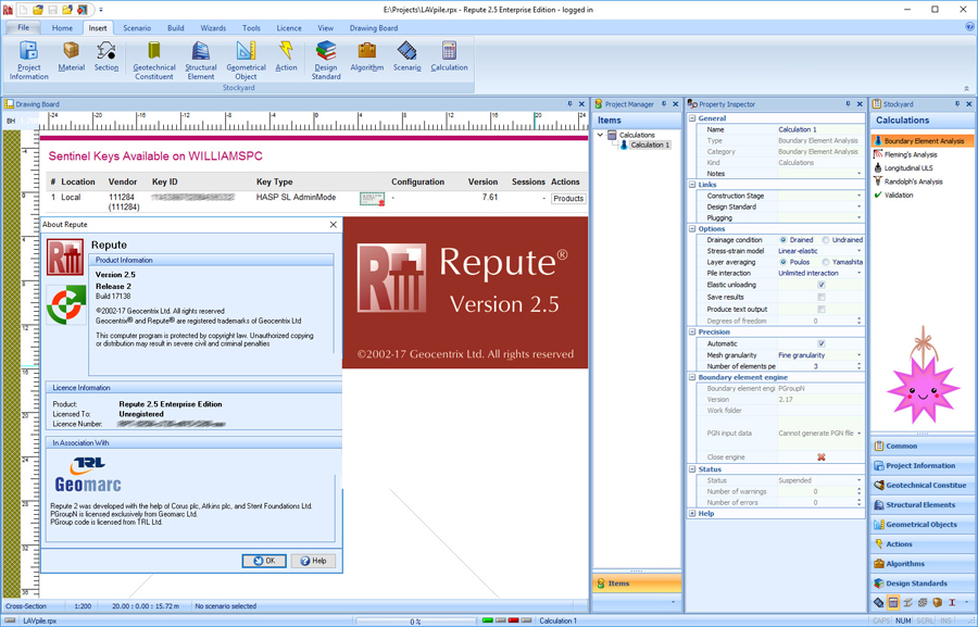 Working with Geocentrix Repute 2.5 Update 2 Enterprise Edition