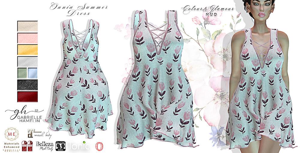 Onnia-Summer-Dress---Pink-Flower
