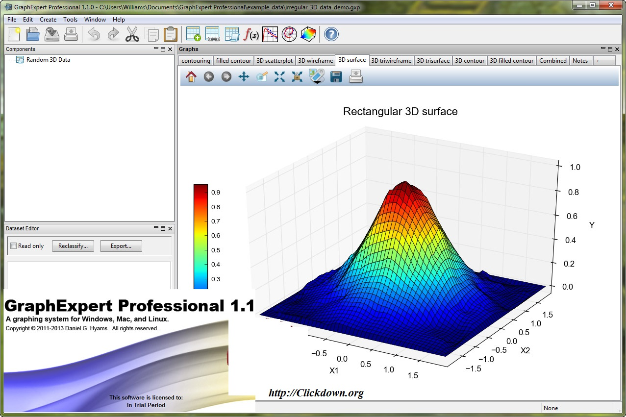 Working with GraphExpert Professional 1.1 full