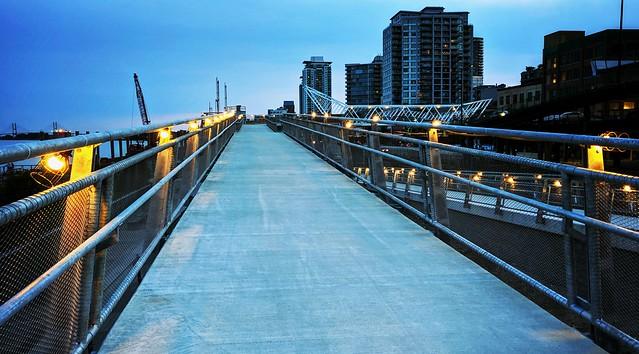 New 6th Street Pedestrian Bridge