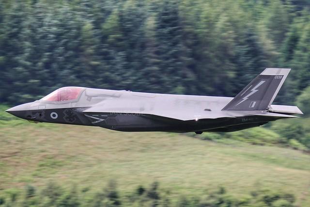 DOOM 32, F-35B in Scottish Borders.
