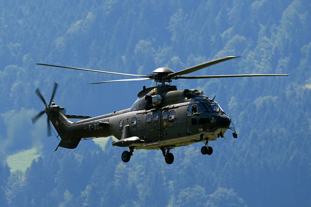 Swiss Air Force Eurocopter AS532UL Cougar T-339