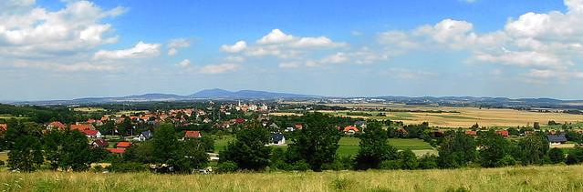 Pieszyce - panorama.