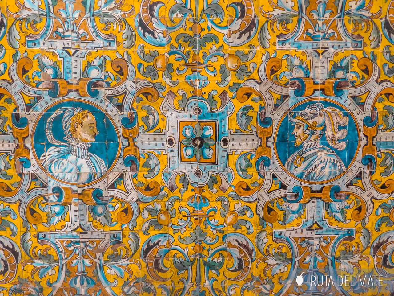 Azulejos del Alcazar de Sevilla