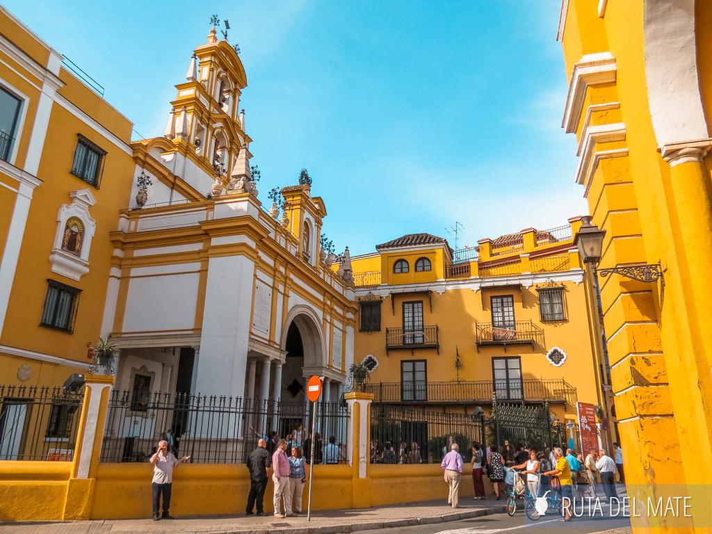 Basílica de la Macarena, uno de los lugares que ver en Sevilla