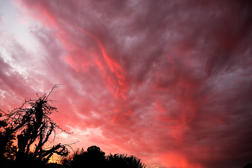 skies sunset colours berkhamsted hertfordshire