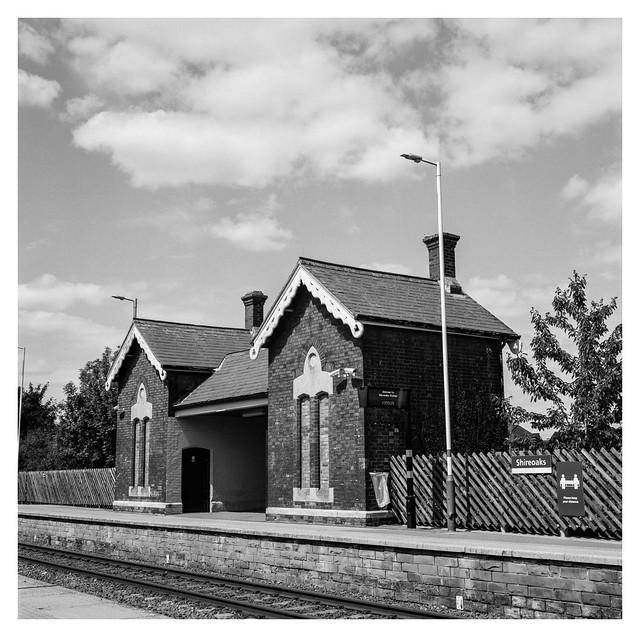 At Shireoaks station
