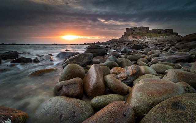Sunset au Fort de l'Ilette