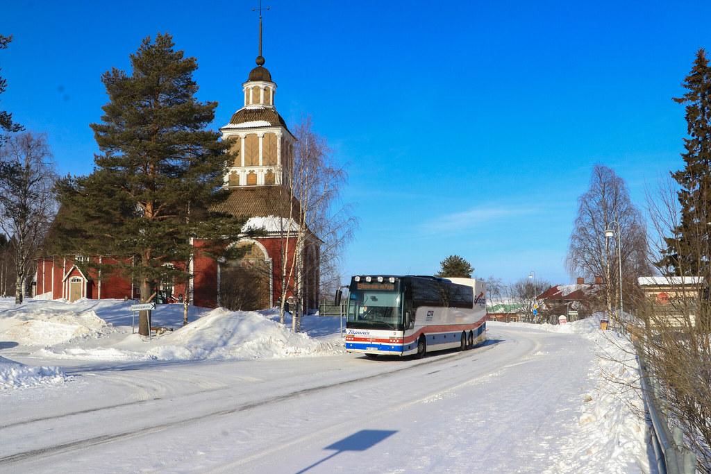Övertorneå / Tapanis Buss Nr. 12