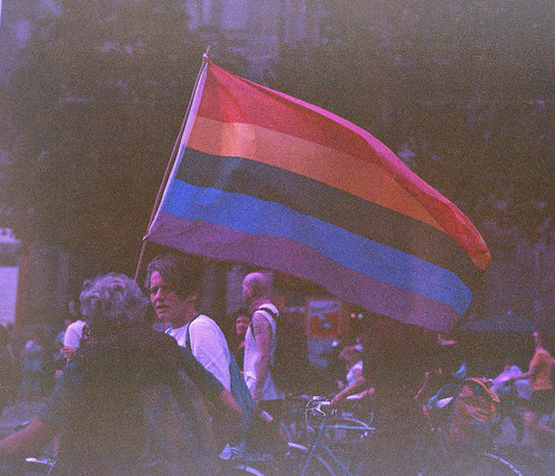 2020 Dyke March In Berlin: Flying Flag | by astra pentaxia