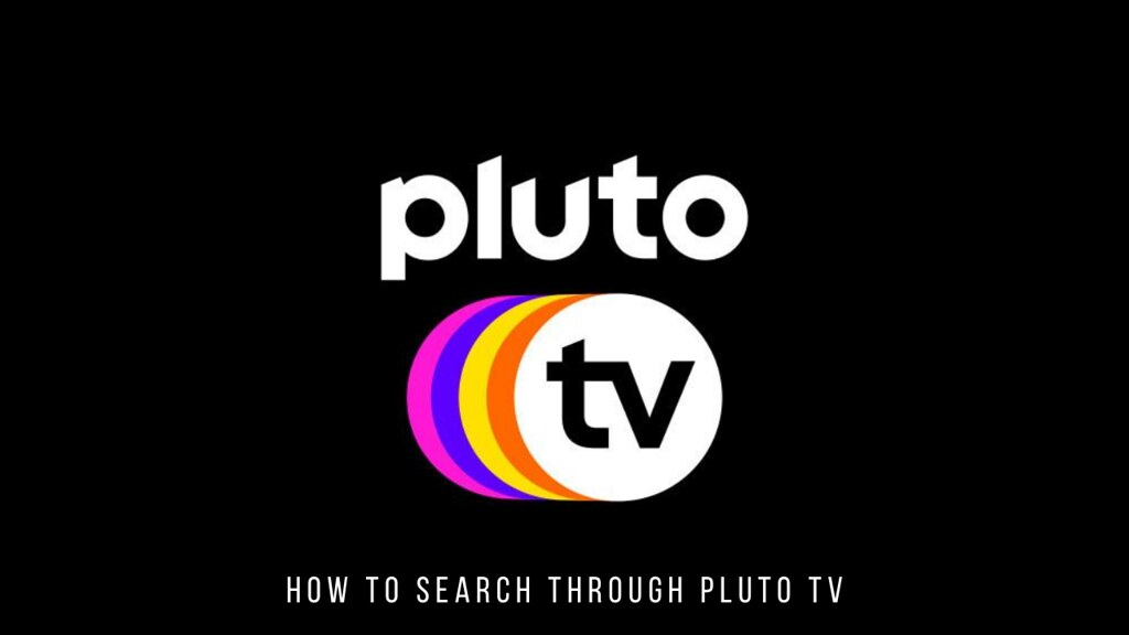 How to Search Through Pluto TV